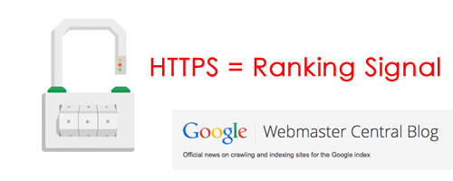 Google uses HTTPS as a ranking signal