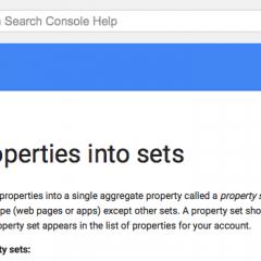 Google Webmaster Tools Combine Sites