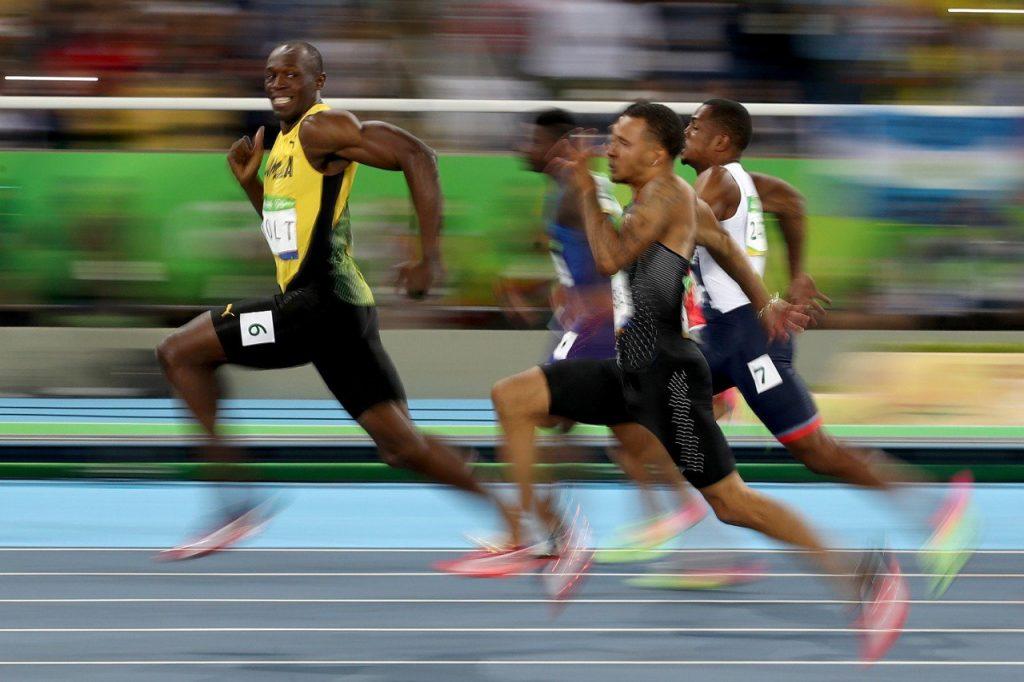 Usain Bolt Wins 100m In Rio